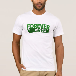 永久に緑、ワシントン州 Tシャツ