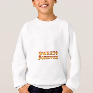 永久に菓子の-衣服だけ スウェットシャツ