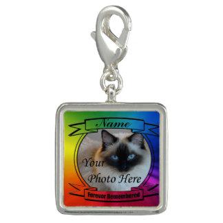 永久に覚えられている虹のカスタムな記念物- チャーム