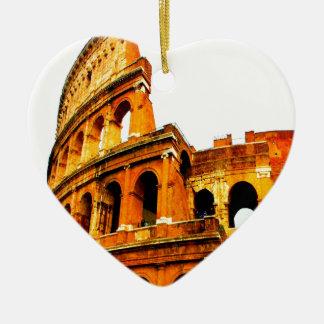 永久に記憶は決してローマイタリアのcolosseumを忘れません セラミックオーナメント
