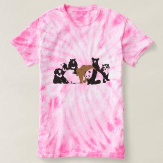 永久に8頭のくま Tシャツ