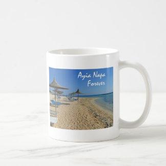 永久にAyia Napa コーヒーマグカップ