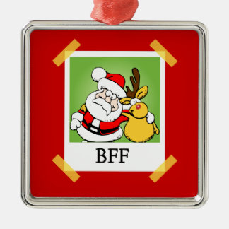 永久にBFFの親友のクリスマスのオーナメント メタルオーナメント