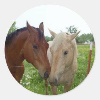 永久にBFFの親友の-馬 ラウンドシール