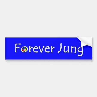 永久にJung (明白な) バンパーステッカー