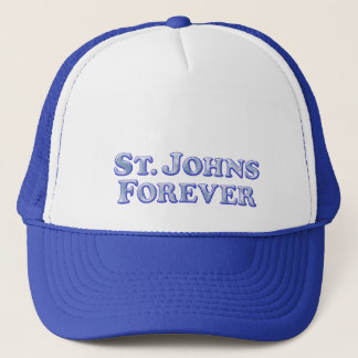 永久にSt Johnsの-斜めの基本 キャップ