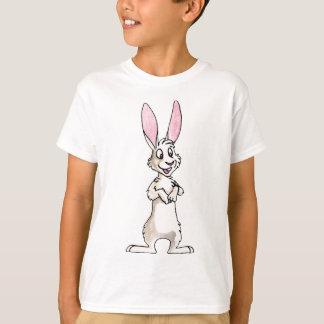 永続的で白いウサギ Tシャツ