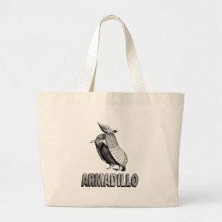 永続的なアルマジロ ラージトートバッグ