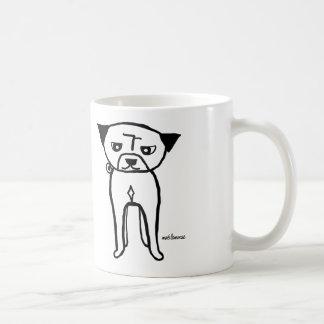 永続的なパグ コーヒーマグカップ