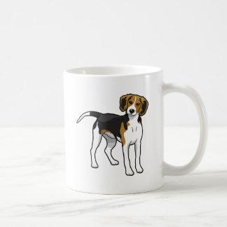 永続的なビーグル犬 コーヒーマグカップ