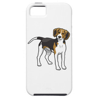 永続的なビーグル犬 iPhone SE/5/5s ケース