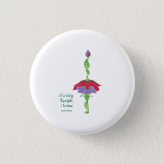 永続的な直立した姿勢の円形ボタン1 1/4inch 3.2cm 丸型バッジ