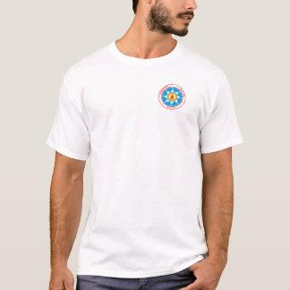 永続的な石の種族のポケットロゴ Tシャツ