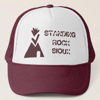永続的な石スー族が付いているNoDAPLの立場 キャップ