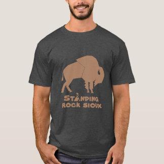 永続的な石スー族 Tシャツ