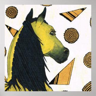 永続的な種馬、Charli Windsor著夜明けライト、 ポスター