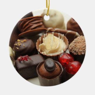 永遠に続くチョコレート セラミックオーナメント
