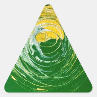 永遠の円3 三角形シール