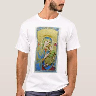 永遠の助けの私達の女性 Tシャツ
