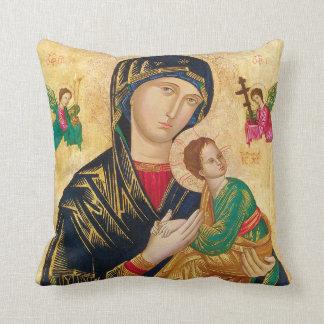 永遠の助け及びPadre PIOの枕の私達の女性 クッション