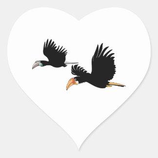 永遠の愛の記号 ハートシール
