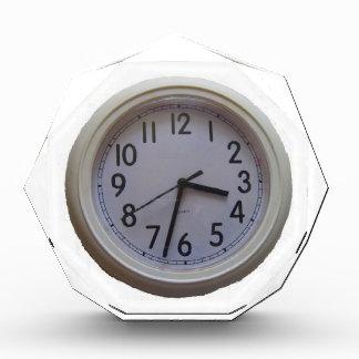 永遠の時間の柱時計 表彰盾