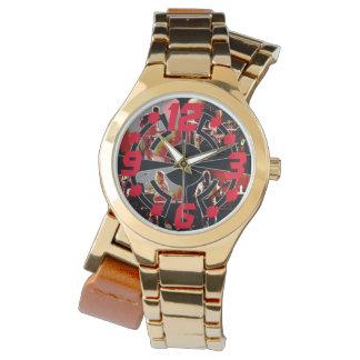 永遠の溝の金時計 腕時計