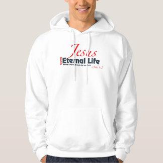 永遠の生命のフード付きスウェットシャツ パーカ