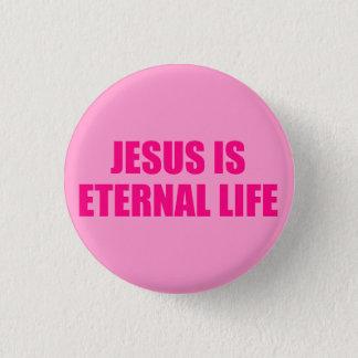 永遠の生命2ボタン 3.2CM 丸型バッジ