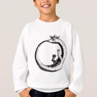 永遠の蛇のヴィンテージのプリント スウェットシャツ
