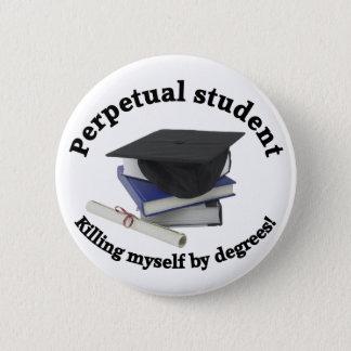 永遠学生2ボタン 5.7CM 丸型バッジ