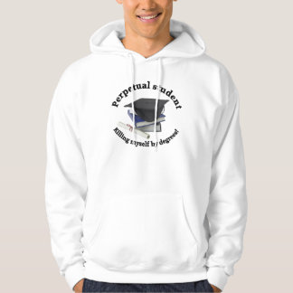 永遠学生2メンズフード付きのスエットシャツ パーカ