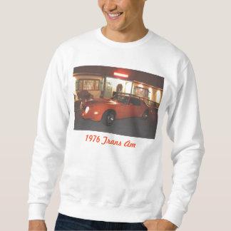 汗ワイシャツ白の1976年のTRANS AM スウェットシャツ