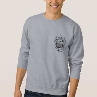 汗McPhersonの紋章付き外衣 スウェットシャツ
