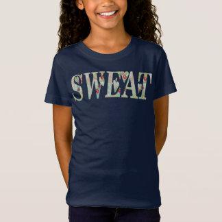 汗Tシャツのてんとう虫 Tシャツ