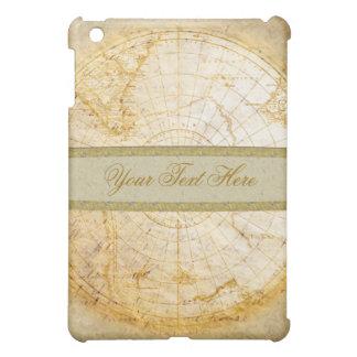 汚い地球の古い地図 iPad MINIケース