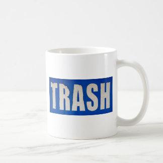 汚い屑の印 コーヒーマグカップ