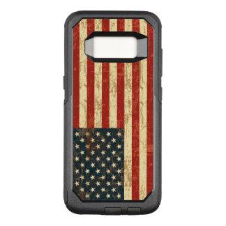 汚い米国旗米国 オッターボックスコミューターSamsung GALAXY S8 ケース
