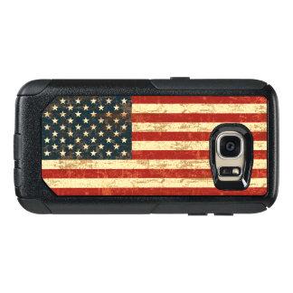 汚い米国旗米国 オッターボックスSamsung GALAXY S7ケース