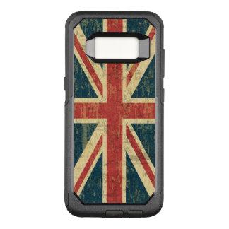 汚い英国国旗 オッターボックスコミューターSamsung GALAXY S8 ケース