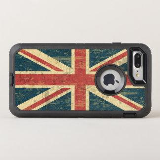 汚い英国国旗 オッターボックスディフェンダーiPhone 8 PLUS/7 PLUSケース