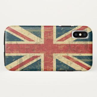 汚い英国国旗 iPhone X ケース