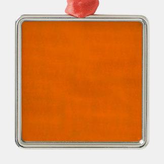 汚れたオレンジ メタルオーナメント