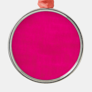 汚れたピンク メタルオーナメント