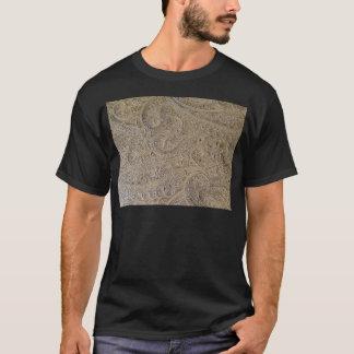 汚れたペイズリー Tシャツ