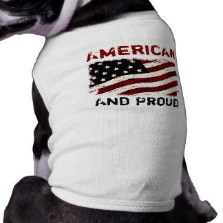 汚れたヴィンテージ米国 ペット服