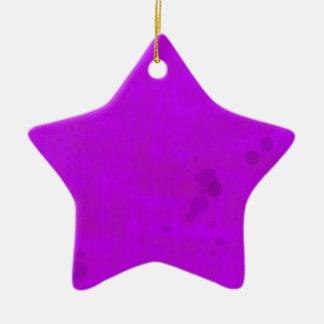 汚れた紫色水汚れ セラミックオーナメント