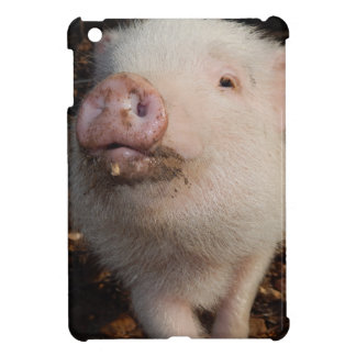 汚れた鼻、ブタの光沢のあるiPad Miniケース iPad Mini Case