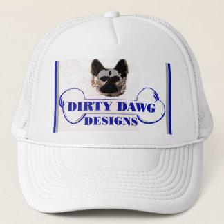 汚れたDawgはロゴの球の帽子を設計します キャップ