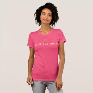 汚れたTシャツを得るために割り当てます Tシャツ